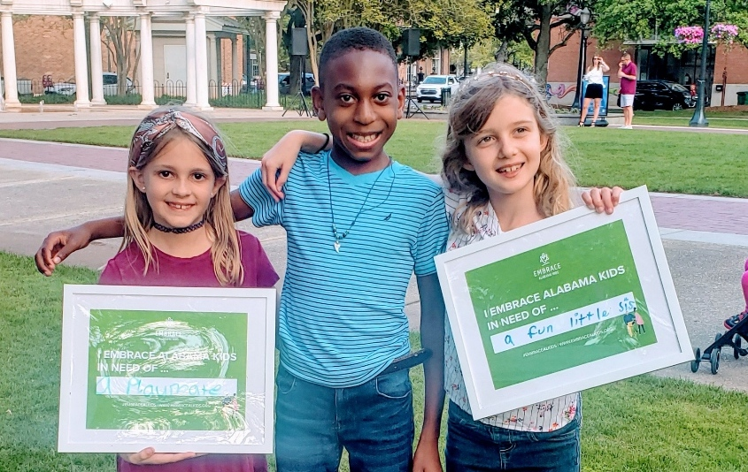 Help Us Raise $28,000 During Embrace Alabama Kids Week